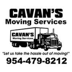 Cavans Moving Services Logo