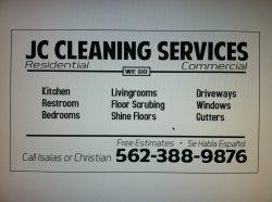 Jc Cleaning Services Logo