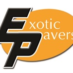 Exotic Pavers Logo