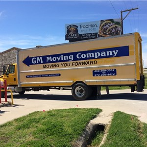 GM Moving Company Logo
