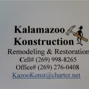 Kalamazoo Konstruction Logo