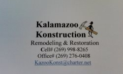 Kalamazoo Konstruction Logo