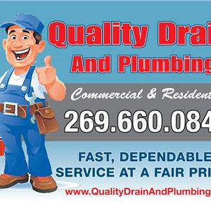 Quality Drain and Plumbing Logo