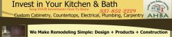 Invest In Your Kitchen & Bath, TDG Construction Logo