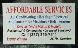 Affordable Services LLC Logo
