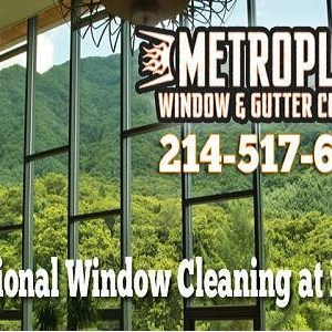Metroplex Window and Gutter Cleaning Logo