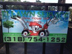 Ej Lawn Service Logo