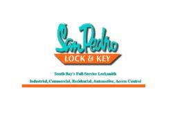 San Pedro Lock & Key Service Logo