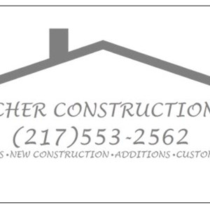 Melcher Construction Co. Logo