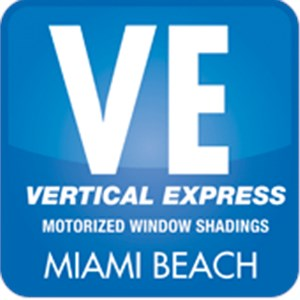 Vertical Express Motorized Window Treatments Logo