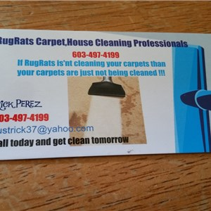 Rug Rats Carpet Cleaning Pros Logo