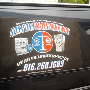Comfort Maintenance Heating & Cooling Logo