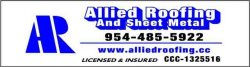 Allied Roofing & Sheet Metal Inc Logo