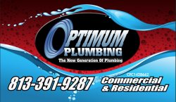 Optimum Plumbing,llc Logo
