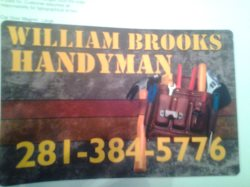 William Brooks Handyman Logo