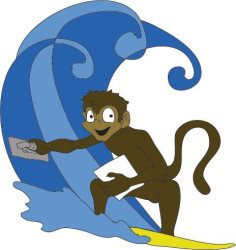 Surf Monkey Flooring Inc. Logo