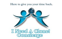 I Need A Clone Concierge Logo