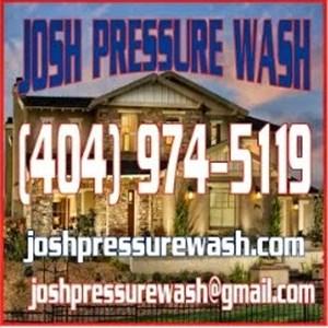 Josh Pressure Wash Logo