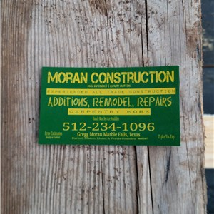 Moran Construction Cover Photo