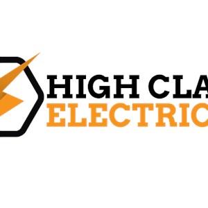 High Class Electric, LLC Logo
