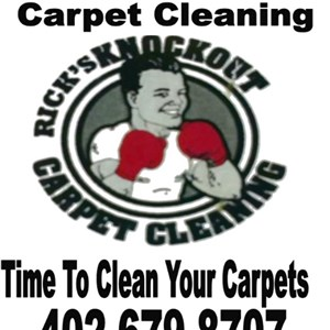 Ricks Knockout Carpet Cleaning Logo