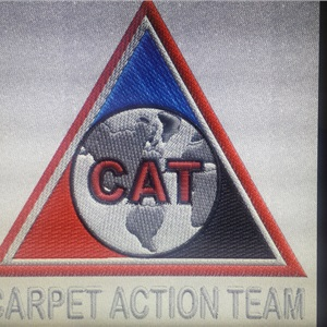 C.A.T. Carpet Action Team Logo