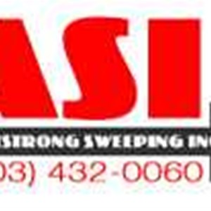 Armstrong Sweeping inc. Logo