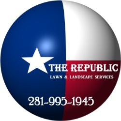 The Republic Lawn & Landscape Services Logo