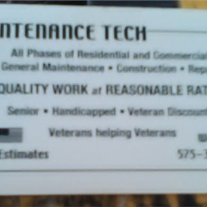 Maintenance Tech Logo