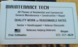 Maintenance Tech Logo