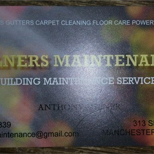 Milners Maintenance Cover Photo