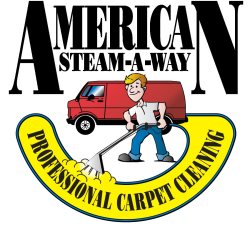 American Steam-a-way Professional Carpet Cleaning Logo