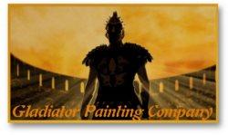 Gladiator Painting Company Logo