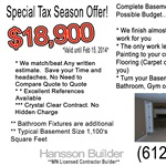 Hansson Builder Cover Photo