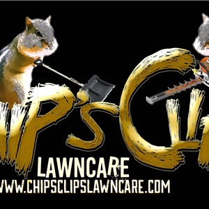 Chips Clips Lawncare Logo