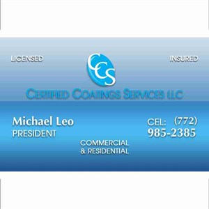 Certified Coatings Services Llc\ Painting AND Decorating Cover Photo