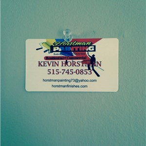 Horstman Painting and Remodeling Logo