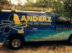 Anderz Cooling and Heating Logo