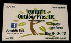 Corbys Outdoor Pros LLC Logo
