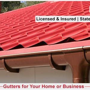 Miller Seamless Gutters Cover Photo
