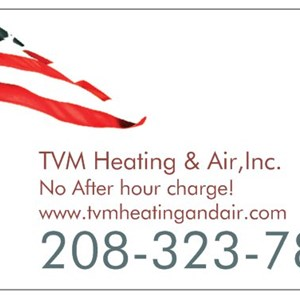 TVM Heating & Air, Inc. Logo