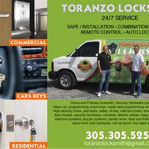Locksmith Toranzo Cover Photo