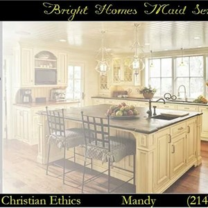 Bright Homes Maid Service Logo