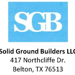 Solid Ground Builders, LLC & Salado Village Painting Logo