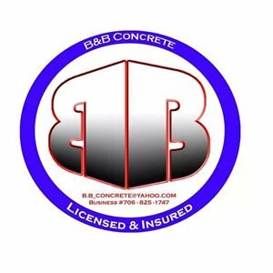 B & B Concrete Logo