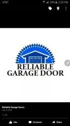 Reliable Garage Doors Inc. Logo