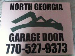 North Georgia Garage Door Logo