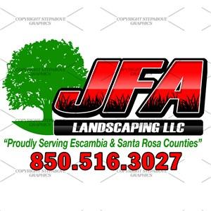Jfa Landscaping LLC Logo