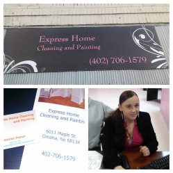 Express Home Cleaning, Painting, and Laundry Logo