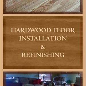 4d Custom Woodworking Logo